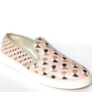 NEW Coach  C117 Slip On Signature Sneaker Pink 6.5
